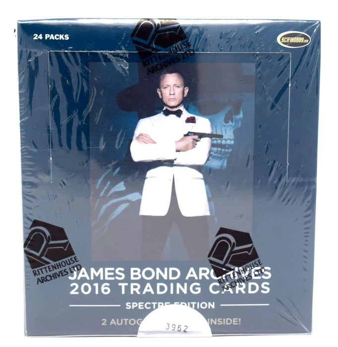2016 Rittenhouse James Bond Archives Spectre Edition Hobby Box
