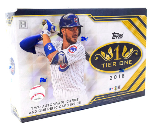 Topps 2018 Tier One Baseball Hobby Box