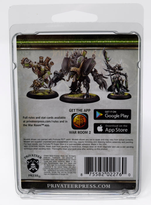 Warmachine - Cryx - Severa Blacktide Solo - PIP 34148 Privateer Press | Cardboard Memories Inc.