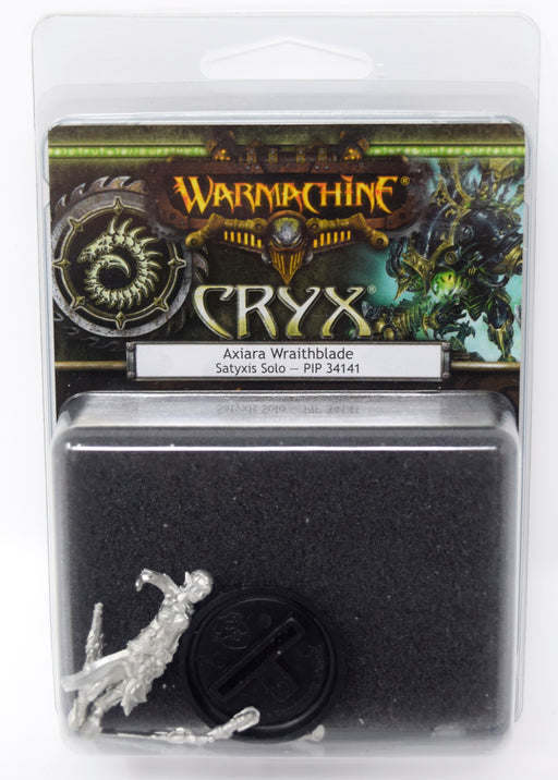 Warmachine - Cryx - Axiara Wraithblade Solo - PIP 34141 Privateer Press | Cardboard Memories Inc.