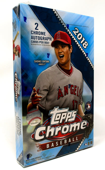 Topps - 2018 - Baseball - Chrome - Hobby Box