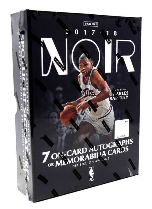2017-18 Panini Noir Basketball Hobby Box