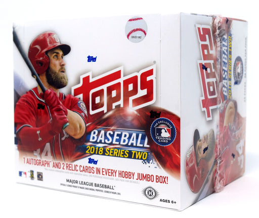 2018 Topps Series 2 Baseball Jumbo Box