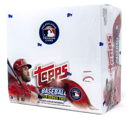 2018 Topps Series 2 Baseball Retail Box