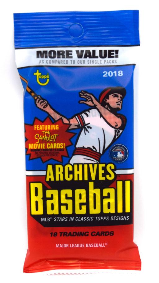 2018 Topps Archives Baseball Fat Pack