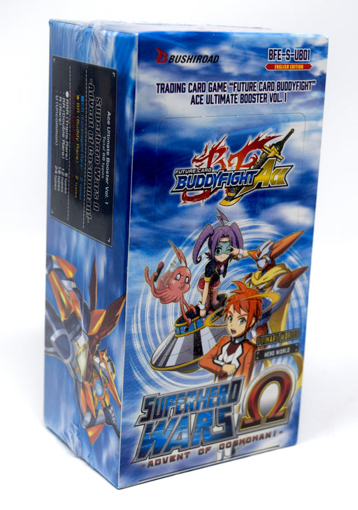 Buddyfight Ace - Superhero Wars Advent of Cosmoman! Ultimate Booster Box