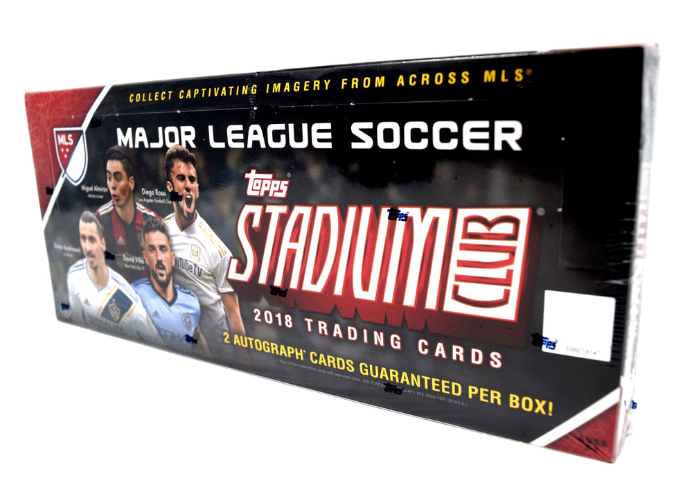 Topps - 2018 - Soccer - Stadium Club MLS - Hobby Box