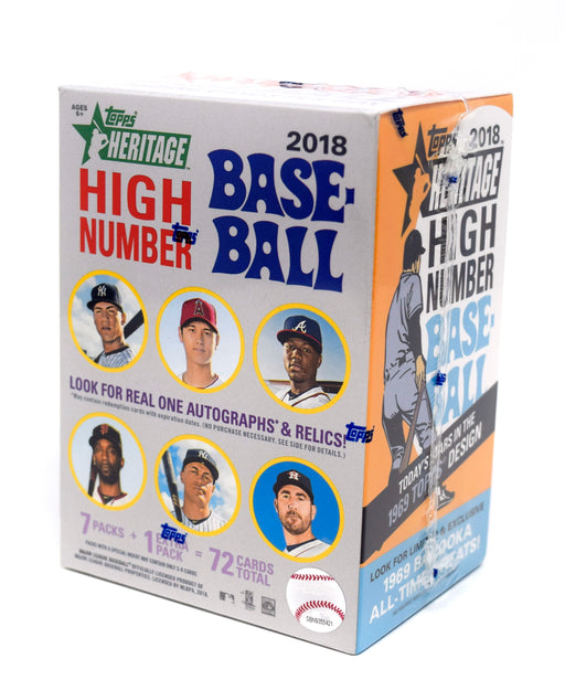 2018 Topps Heritage High Number Baseball Value Box