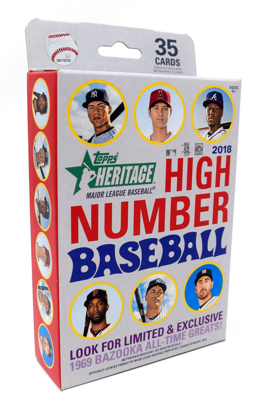 2018 Topps Heritage High Number Baseball Hanger Box