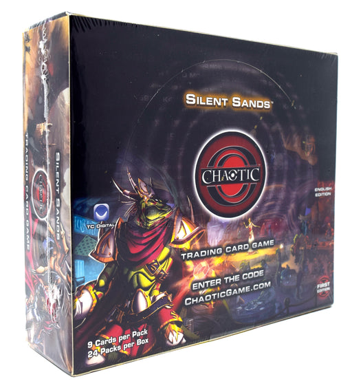 Chaotic Trading Card Game - Silent Sands Booster Box