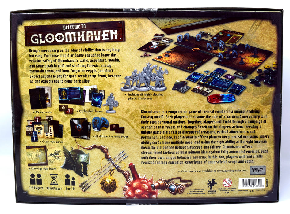 Gloomhaven - Second Edition (Minor Box Damage)