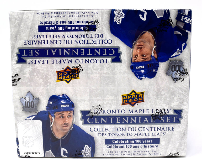 2017-18 Upper Deck Toronto Maple Leafs Centennial Retail Box