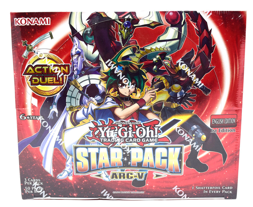 Konami - Yu-Gi-Oh! - Star Pack ARC-V - Booster Box