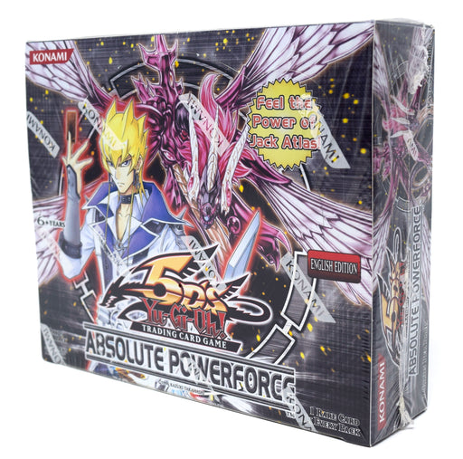 Konami - Yu-Gi-Oh! - Absolute Powerforce - Booster Box