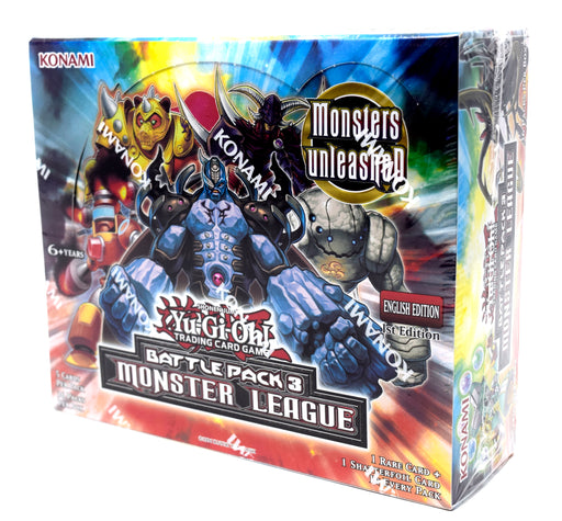 Yu-Gi-Oh! Battle Pack 3 Monster League Booster Box
