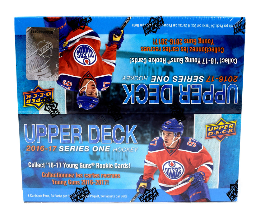 Upper Deck - 2016-17 - Hockey - Series 1 - Retail Box