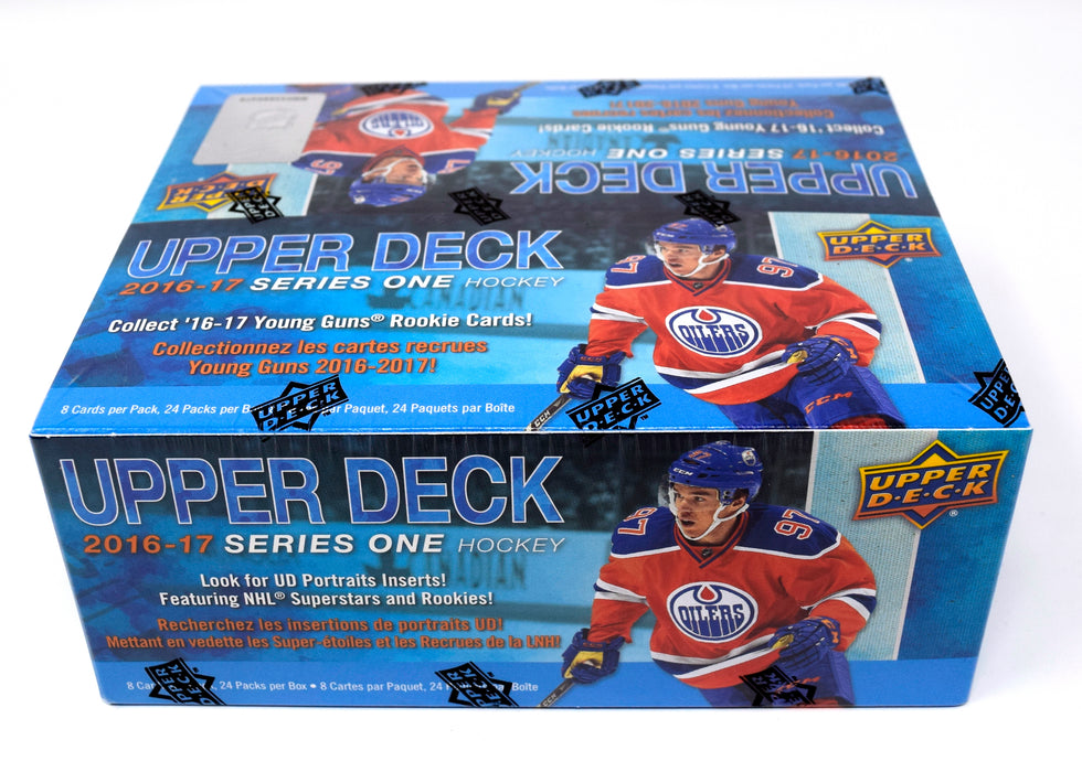 2016-17 Upper Deck Series 1 Hockey Retail Box