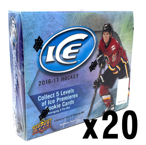 2016-17 Upper Deck Ice Hockey Hobby 20 Box Master Case
