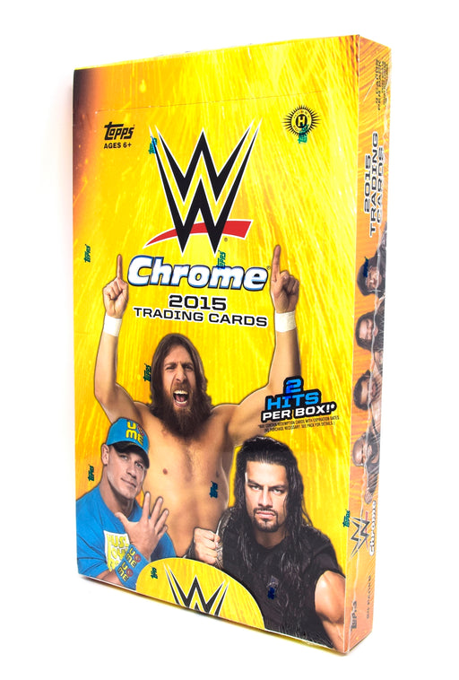 2015 Topps Chrome WWE Wrestling Hobby Box