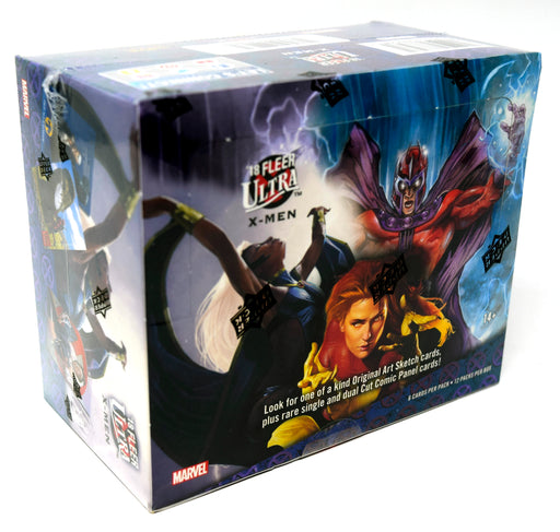 2018 Upper Deck Marvel Fleer Ultra X-Men Hobby Box