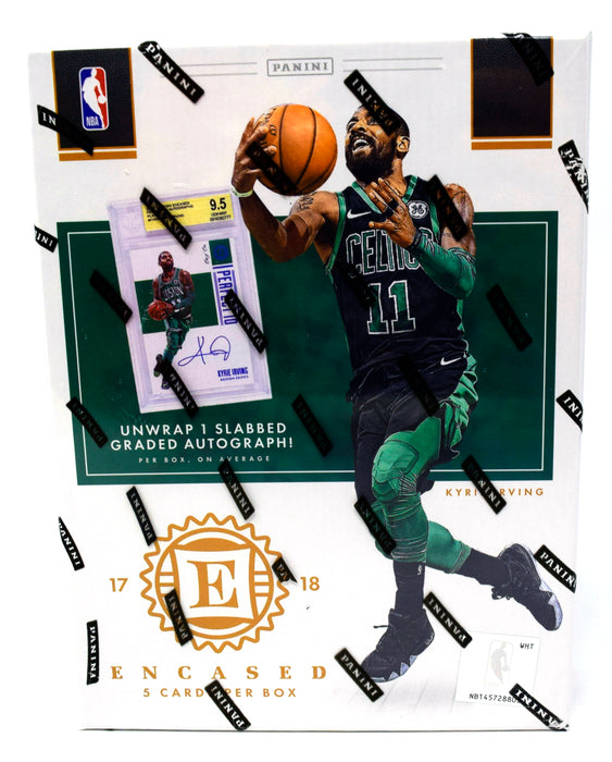 2017-18 Panini Encased Basketball Hobby Box