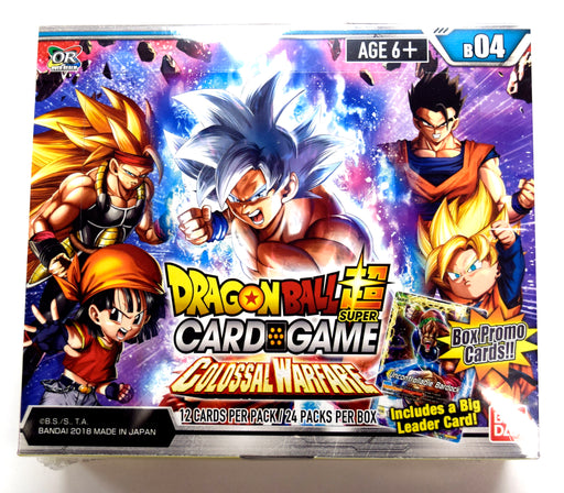 Bandai - Dragon Ball Super - Colossal Warfare Set 04 - Booster Box
