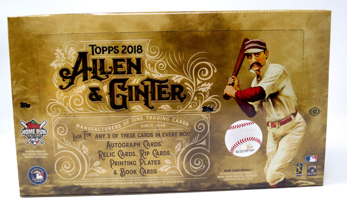 Topps 2018 - Baseball - Allen and Ginter - Hobby Box