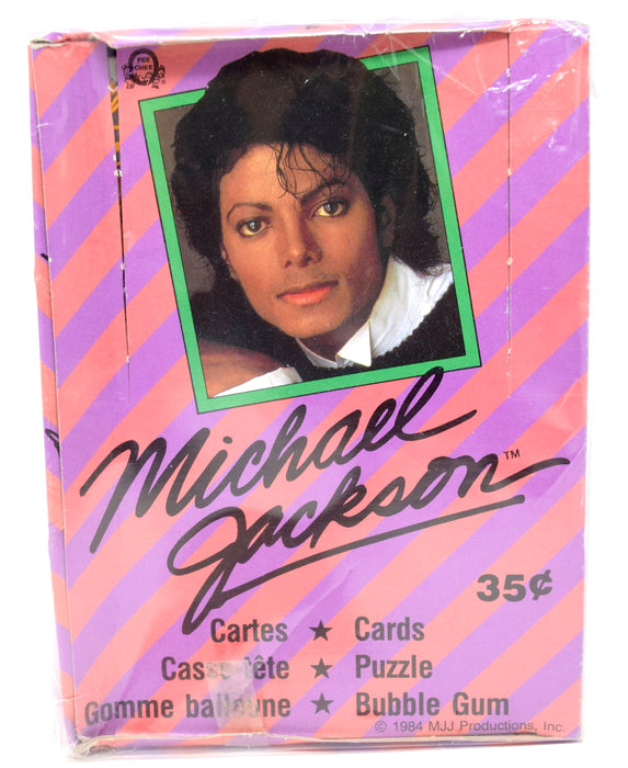 O-Pee-Chee OPC -1984 - Michael Jackson - Trading Cards Box