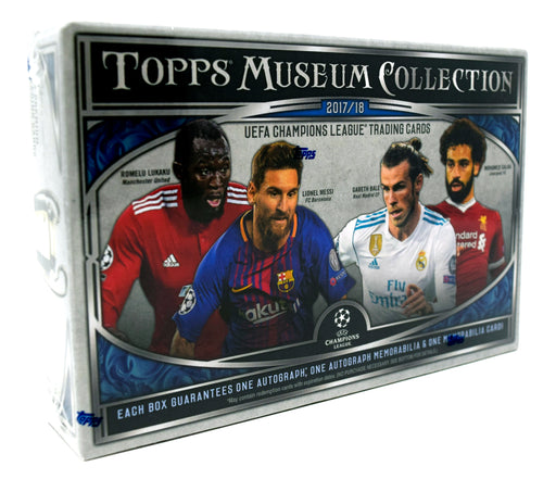 2017-18 Topps UEFA Champion's League Soccer Museum Collection Hobby Box