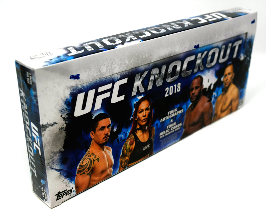 2018 Topps UFC Knockout Hobby Box