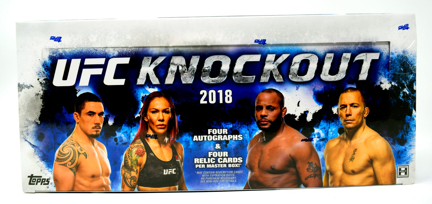 Topps - 2018 - UFC - Knockout - Hobby Box