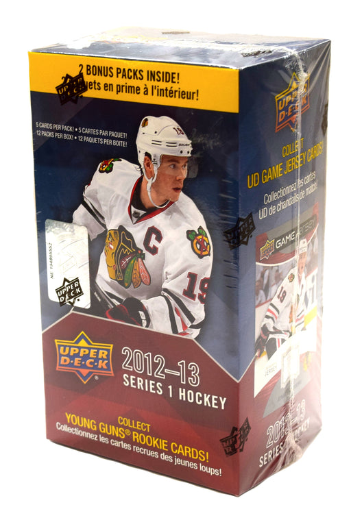 2012-13 Upper Deck Series 1 Hockey Blaster Box Upper Deck | Cardboard Memories Inc.