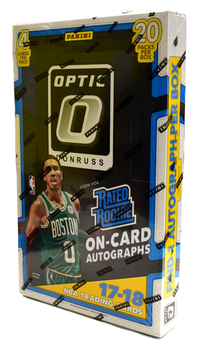 2017-18 Panini Donruss Optic Basketball Hobby Box Panini | Cardboard Memories Inc.