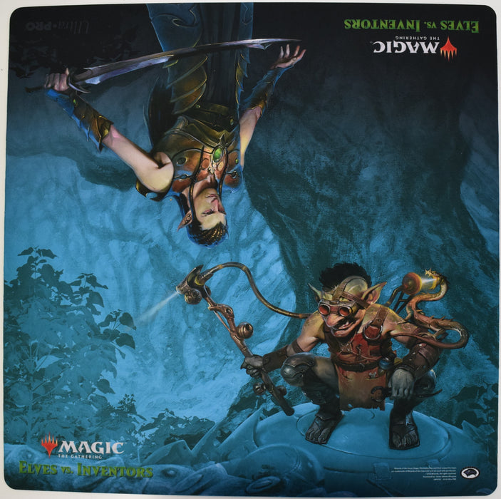 Ultra Pro Playmat - Magic the Gathering Elves vs. Inventors 24x24 Ultra Pro | Cardboard Memories Inc.