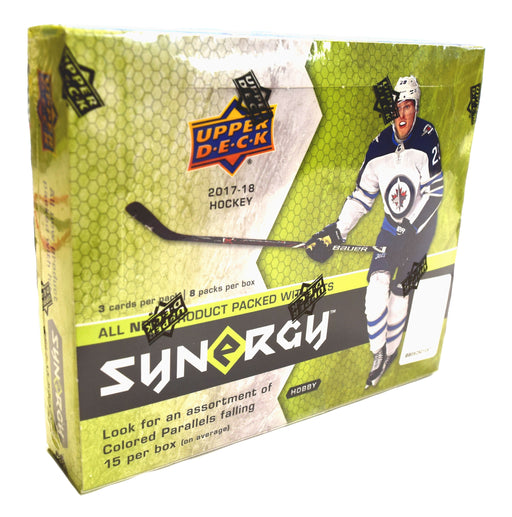2017-18 Upper Deck Synergy Hockey Hobby Box Upper Deck | Cardboard Memories Inc.