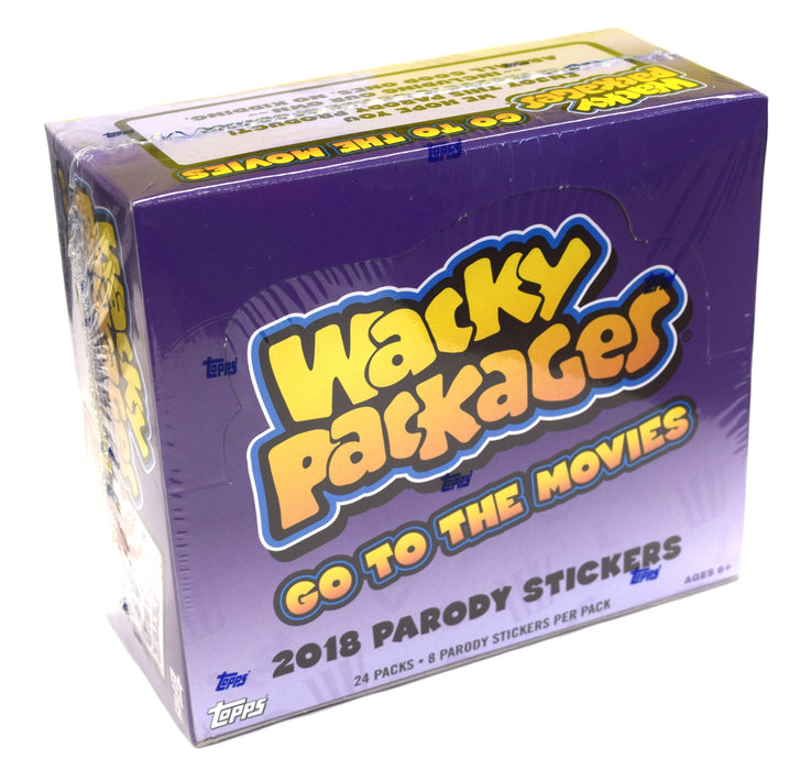 2018 Topps Wacky Packages Go to the Movies Hobby Box Topps | Cardboard Memories Inc.
