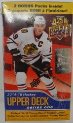 2014-15 Upper Deck Series 1 Hockey Blaster Upper Deck | Cardboard Memories Inc.