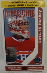 2014-15 Upper Deck O-Pee-Chee Hockey Blaster Upper Deck | Cardboard Memories Inc.