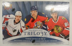 2014-15 Upper Deck Trilogy Hockey Case of 16 Boxes Upper Deck | Cardboard Memories Inc.