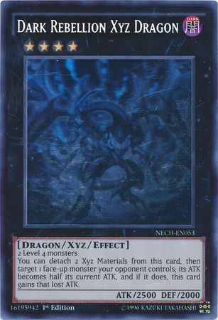Dark Rebellion Xyz Dragon - Ghost Rare - NECH-EN053