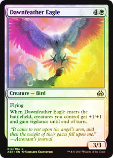 Dawnfeather Eagle - Common FOIL - AER014F Wizards of the Coast | Cardboard Memories Inc.