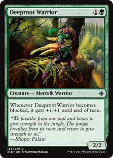 Deeproot Warrior - Common - XLN186 Wizards of the Coast | Cardboard Memories Inc.
