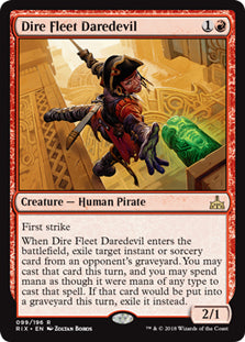 Dire Fleet Daredevil - Rare - RIX099 Wizards of the Coast | Cardboard Memories Inc.