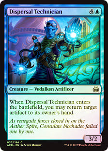 Dispersal Technician - Common FOIL  AER032F Wizards Of the Coast | Cardboard Memories Inc.