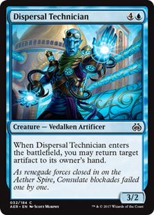 Dispersal Technician - Common  AER032 Wizards Of the Coast | Cardboard Memories Inc.