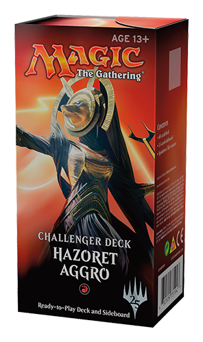 Magic the Gathering Challenger Deck - Hazoret Aggro Magic The Gathering | Cardboard Memories Inc.