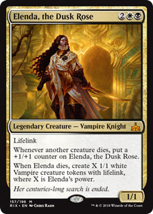Elenda, the Dusk Rose - Mythic - RIX157 Wizards of the Coast | Cardboard Memories Inc.