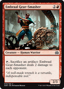 Embraal Gear-Smasher - AER079 Wizards of the Coast | Cardboard Memories Inc.