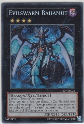 Konami - Yu-Gi-Oh! - Evilswarm Bahamut - Secret Rare Unlimited - HA07-EN024