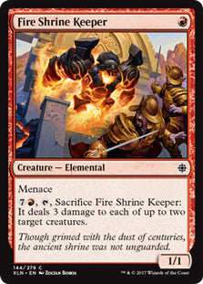 Fire Shrine Keeper - Common - XLN144 Wizards of the Coast | Cardboard Memories Inc.